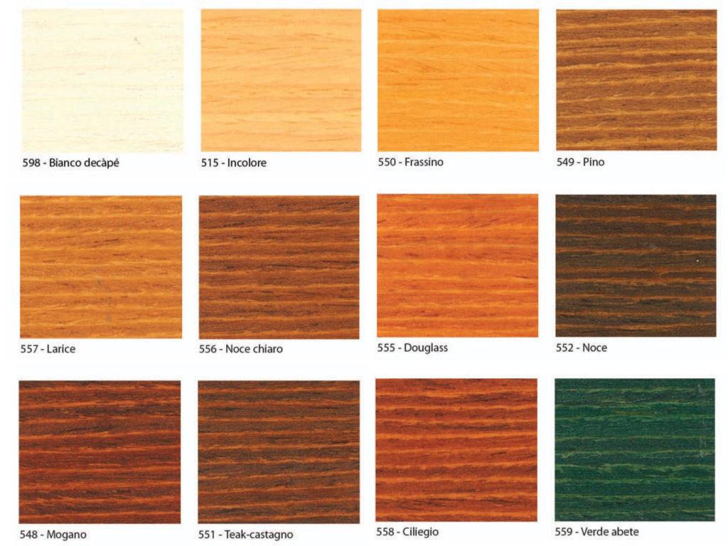 Colori Vernici Legno : Vernice per legno colore larice impregnante per legno il re dei